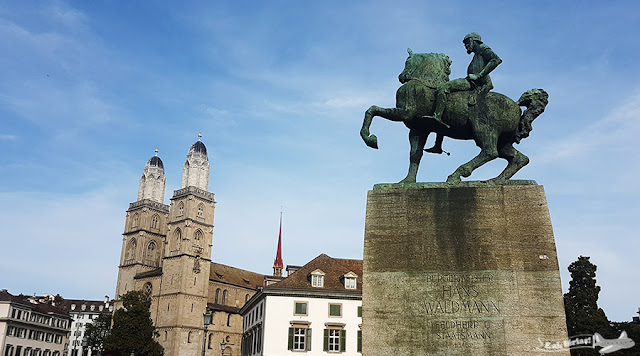 Grossmunster, Zurique, Suíça