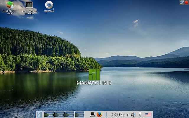 Manjaro E20 Desktop