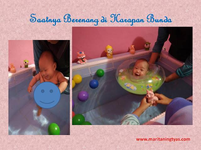 Berenang di Harapan Bunda Baby Massage Center Semarang