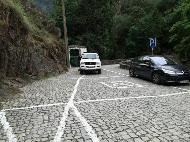 Parque de Estacionamento para pessoas deficientes
