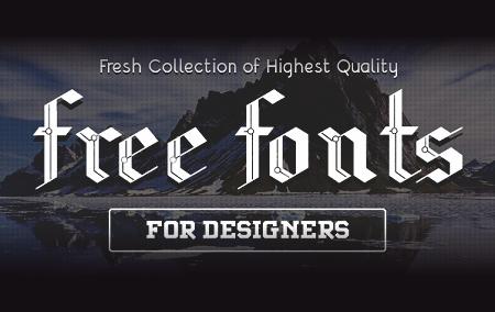 18 Font Gratis Terbaru untuk Desainer Grafis