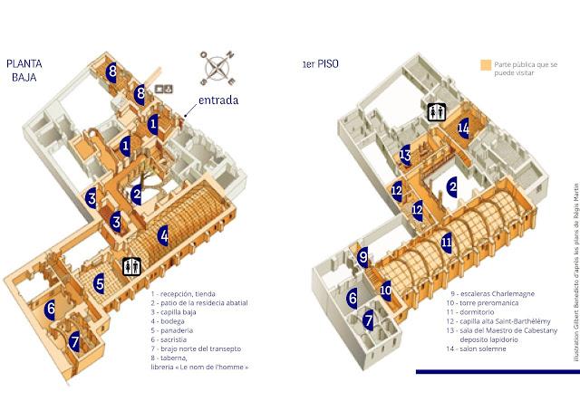 plano abadia lagrasse