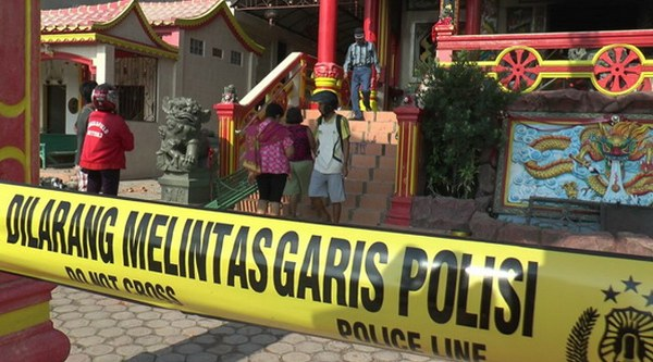 kerusuhan yang terjadi di Tanjung Balai
