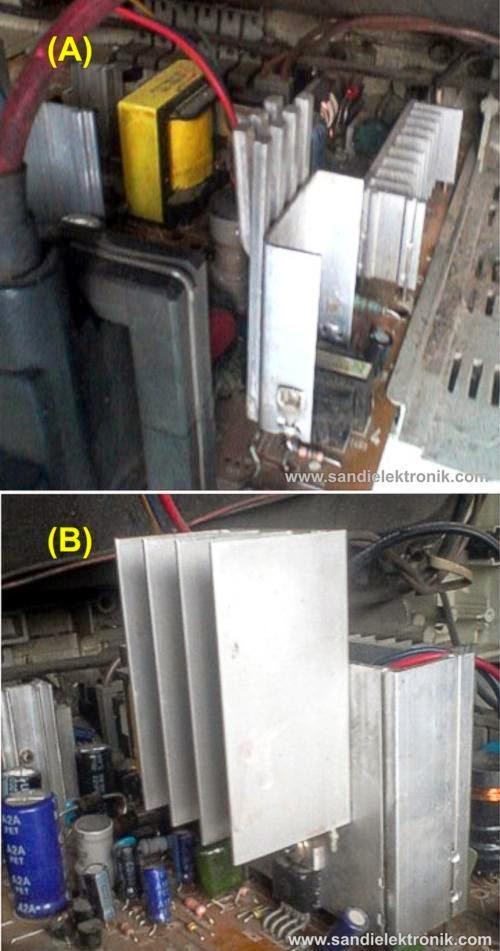 Perbaikan Tv Lg Ultra Slim Chassis Cw81a Sandi Elektronik