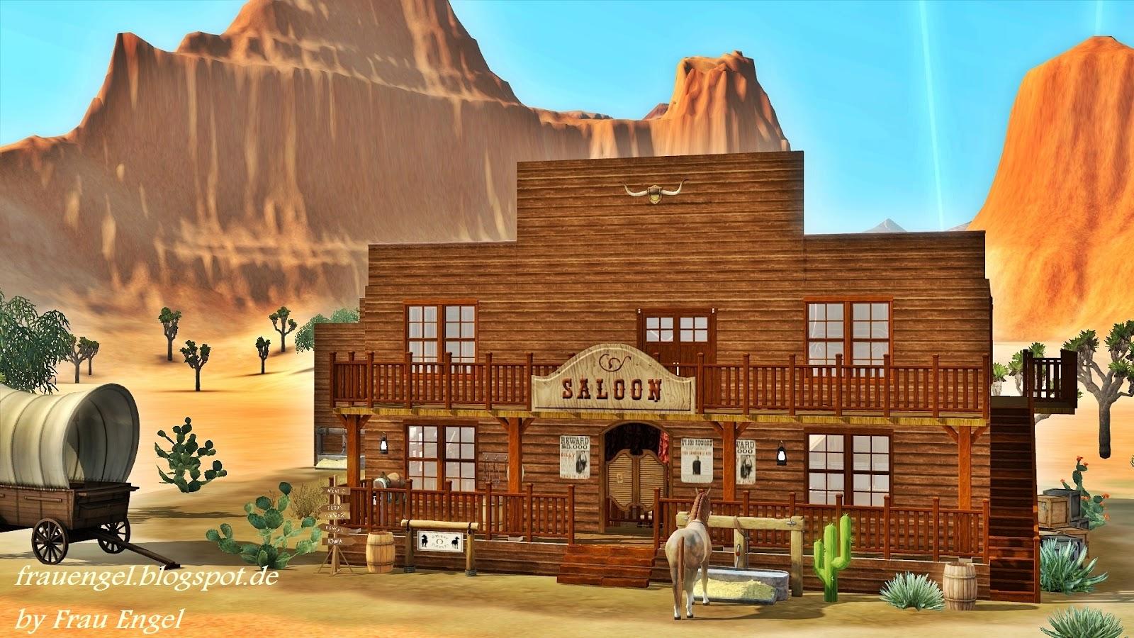 frau engel saloon in the wild west. Black Bedroom Furniture Sets. Home Design Ideas