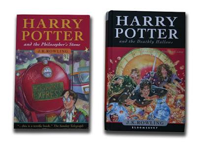 Harry Potter zagraniczne wydania - Wielka Brytania