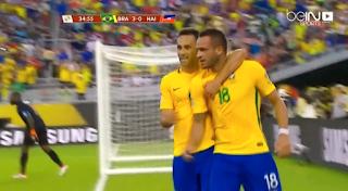 ملخص واهداف مباراة البرازيل وهايتي 7 : 1