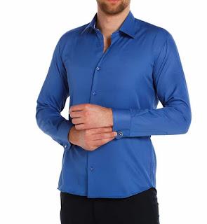 mavi renk gömlekle ne giyilir