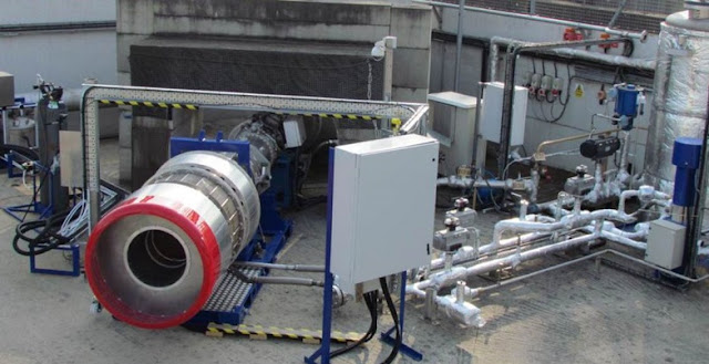 Testing the precooler design for the SABRE engine, undertaken at Reaction Engines' site in Oxfordshire in November 2012 and overseen by ESA. Credit: Reaction Engines Ltd