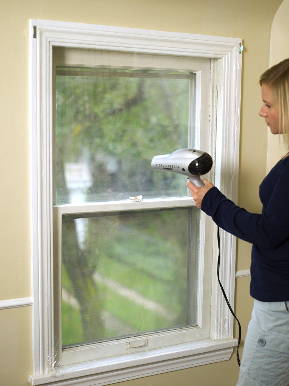 Plastic On Windows Save Money In Winter Heating Bill
