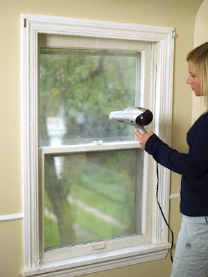 Plastic On Windows Save Money In Winter Heating Bill