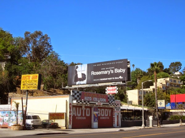 Rosemary's Baby TV remake billboard