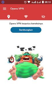 Opera VPN Gratis Untuk Telkomsel