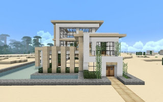 Minecraft-Modern-House-Designs-Glass