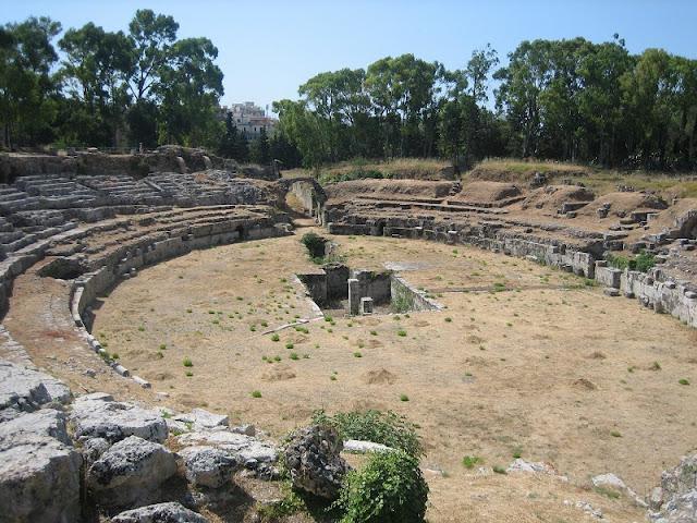 Anfiteatro griego de Siracusa