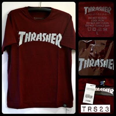 Kaos Distro Surfing Skate THRASHER Premium Kode TRS23