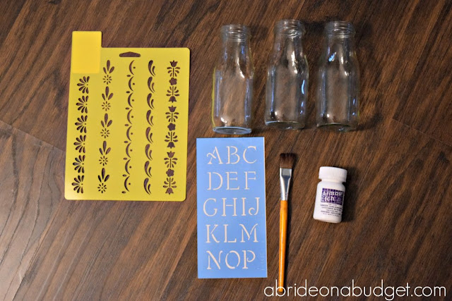 Looking for a fun DIY you can use on wedding morning? Check out these DIY Personalized Bridal Party Bottles from www.abrideonabudget.com. There's a good strawberry-infused water recipe too (which you can use even if you're not getting married!).