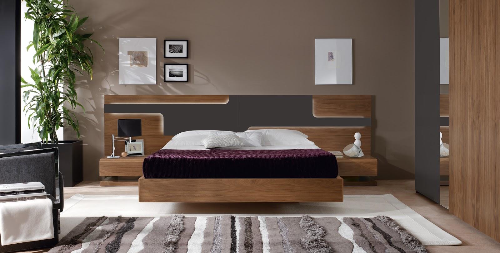 Dormitorios de matrimonio living for Muebles exterior diseno moderno