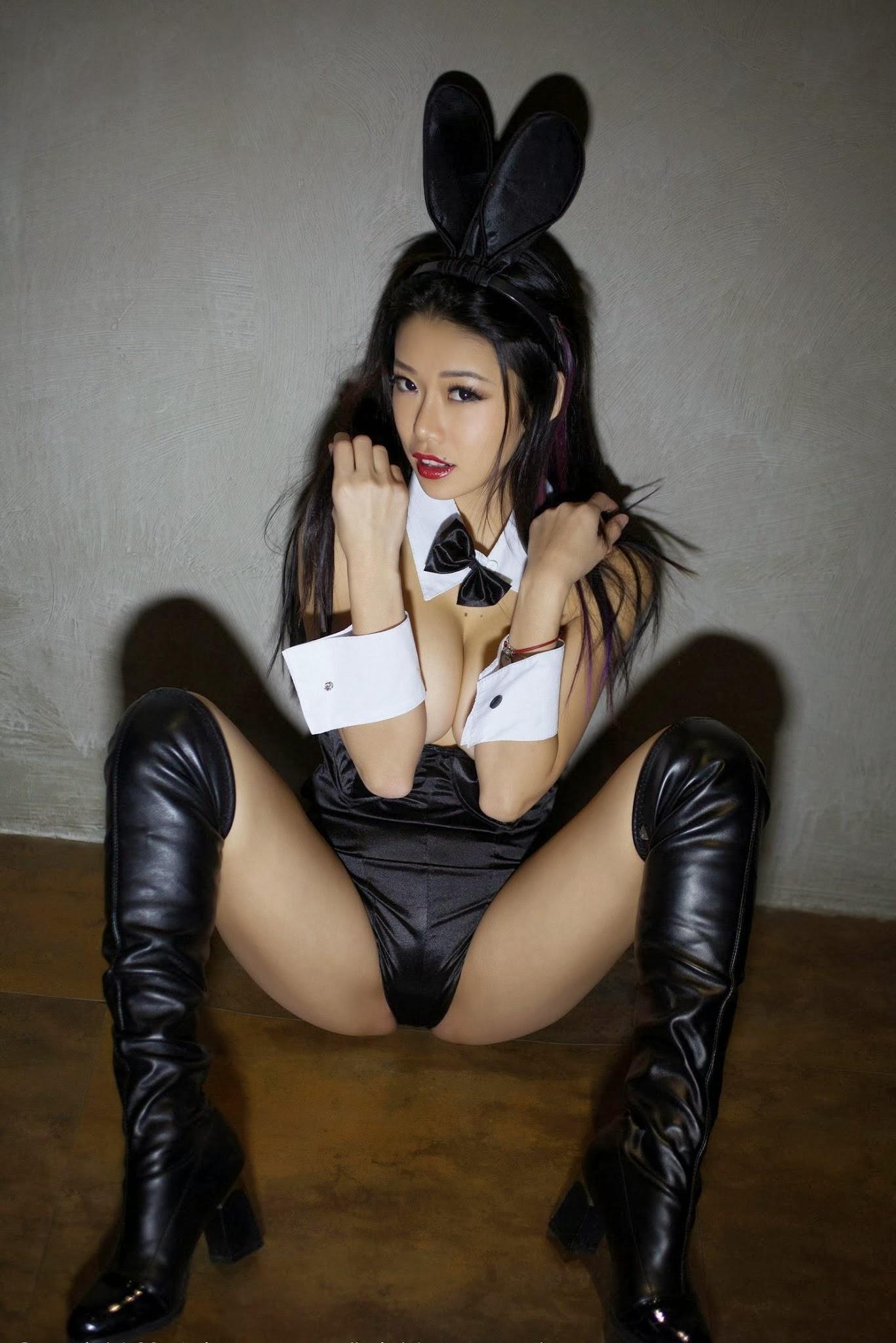 Luvian Ben Neng  Topless  Bunny Girl Cosplay Uhd -7560