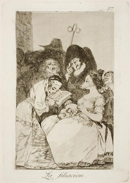 Goya - La filiación / Η πατρότητα / The filiation