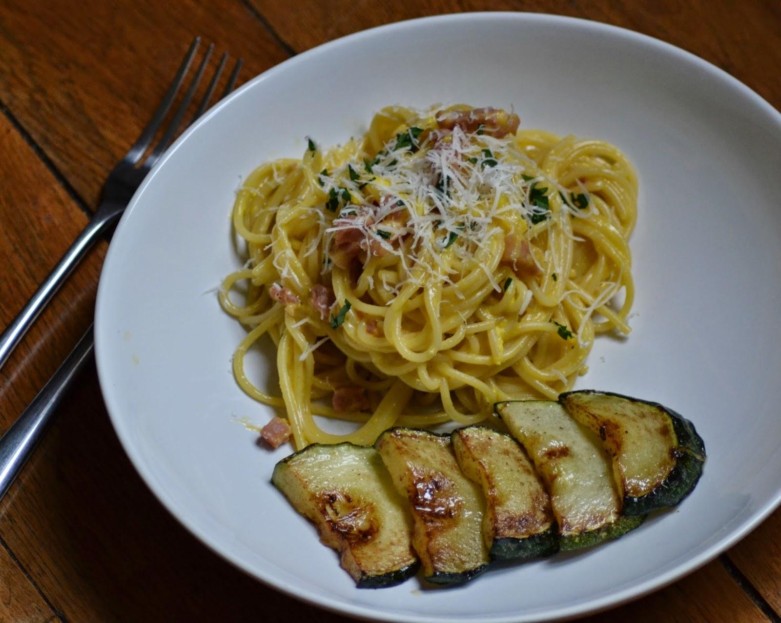 Spaghetti carbonara zonder pakjes