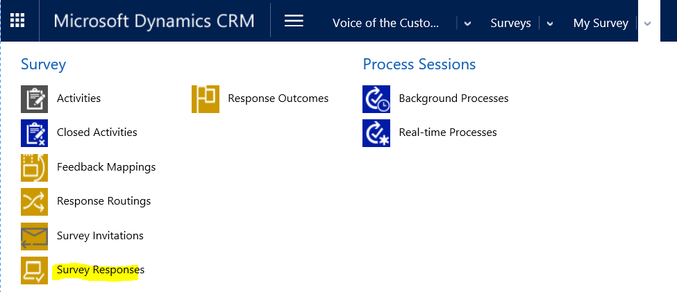crm surveys microsoft dynamics crm voice of the customer in dynamics crm 363