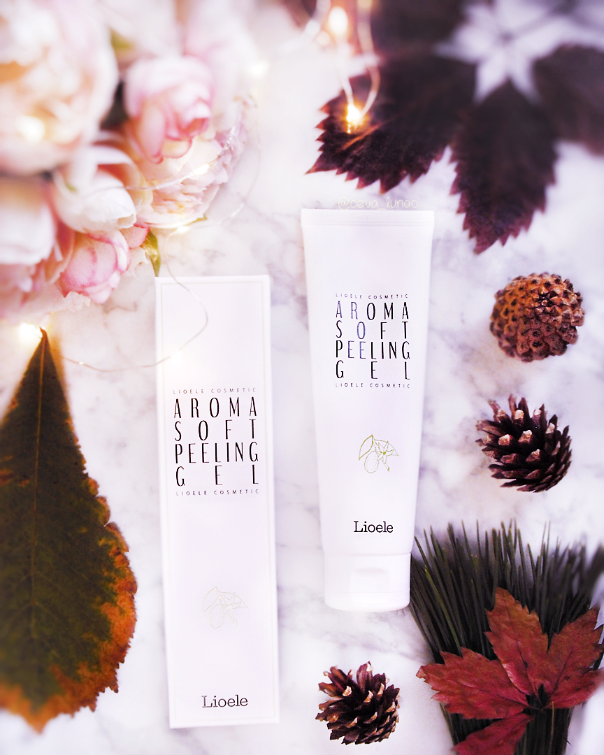 Lioele Aroma Soft Peeling Gel - koreean skincare beauty review - themakeupshop