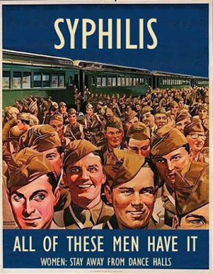 Syphilis - All of these men have it