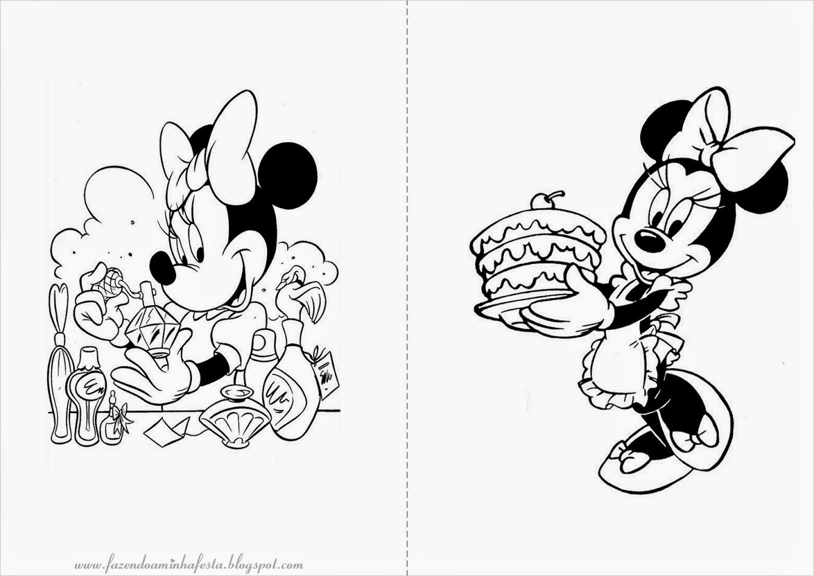 BAÚ DA WEB : Lindos Desenhos Da Minnie