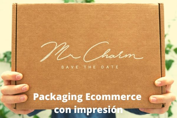 packaging ecommerce con impresión