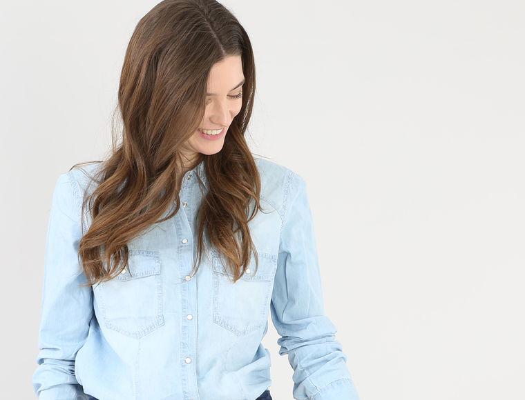camicia jeans pimkie primavera spring 2017