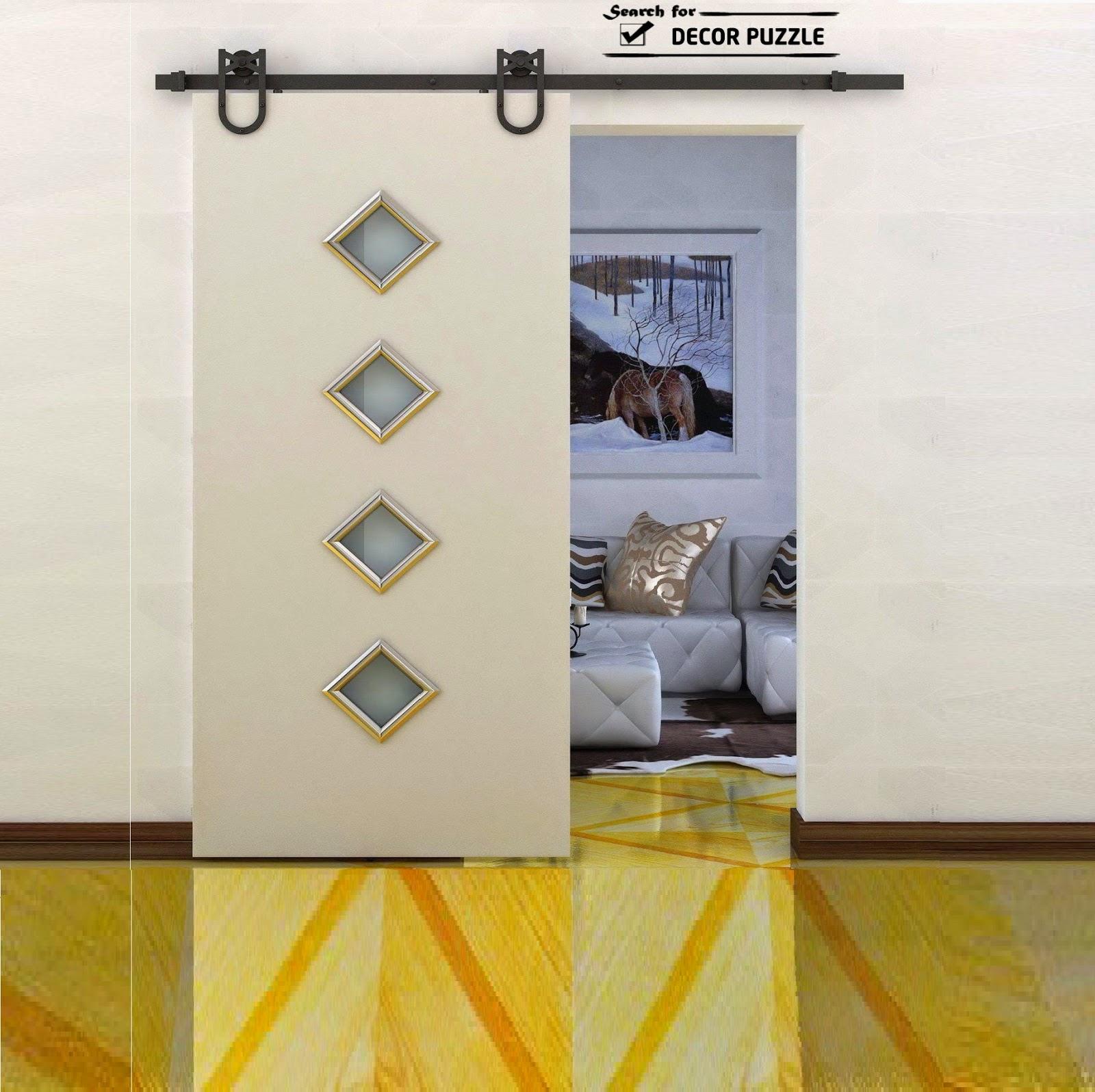 Interior sliding barn door designs, uses, styles and hardware