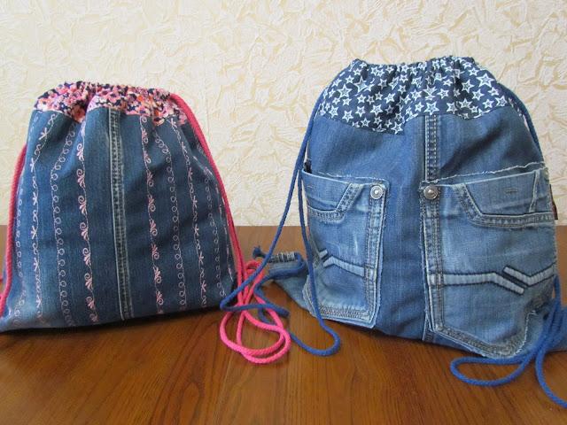Как выкроить, сшить и обработать боковые джинсовые