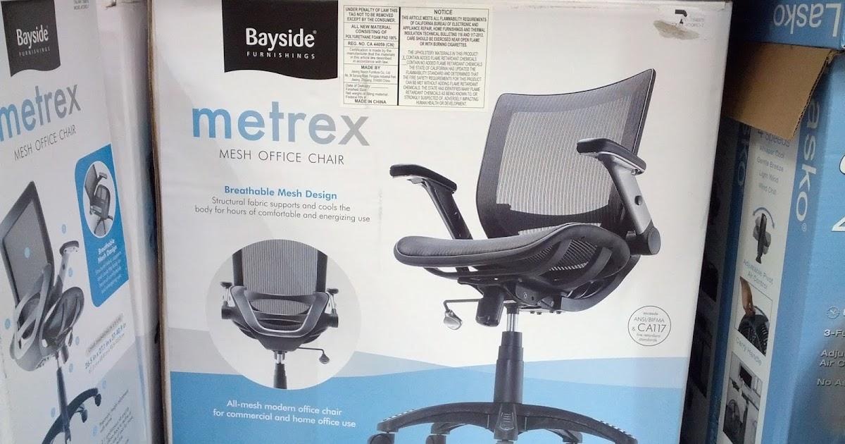 Bayside Furnishings Metrex Mesh Office