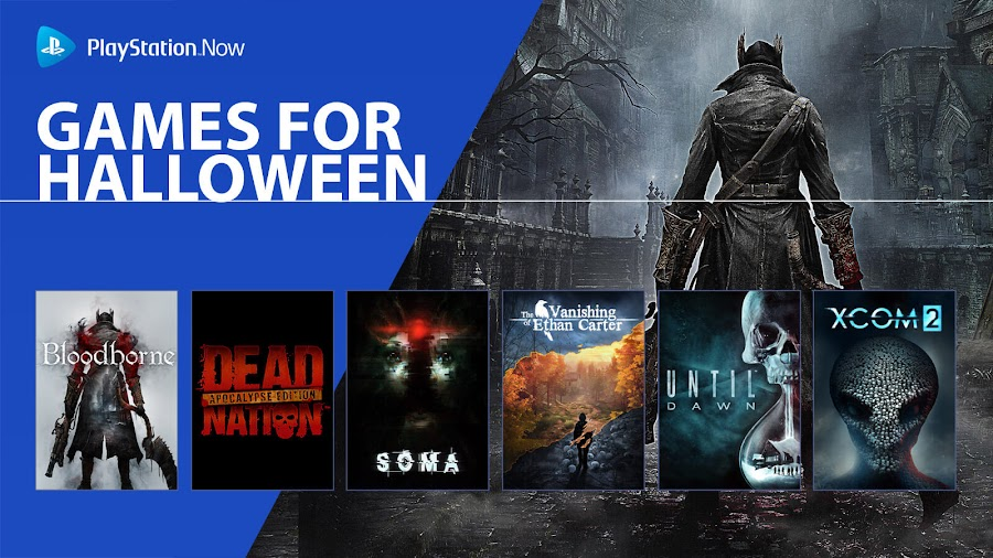 playstation now halloween horror games ps4