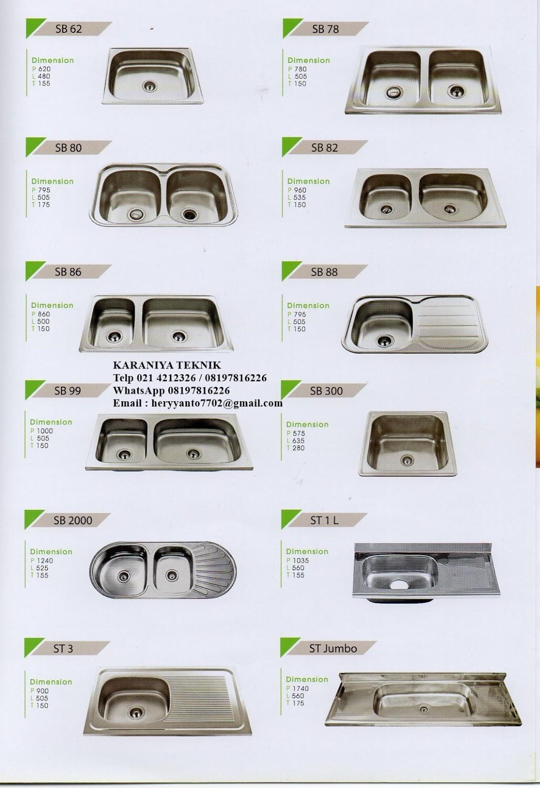 Kitchen Sink Royal # Ukuran Washbak_110422