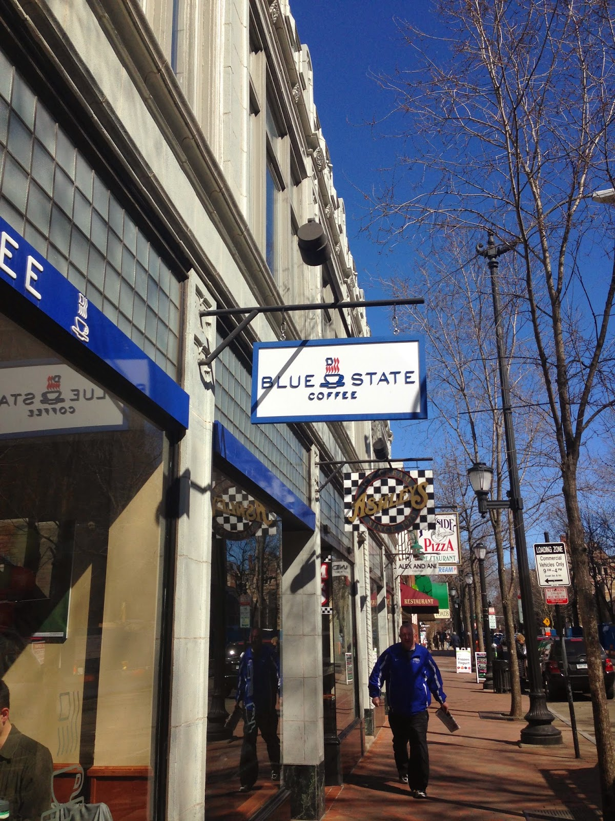 Drinking Time Blue State Coffee New Haven Ct