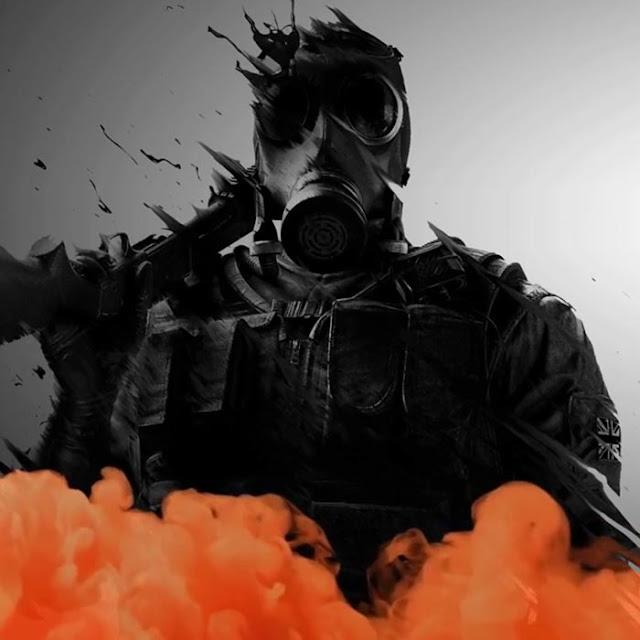 Smoke Rainbow Six Siege Wallpaper Engine