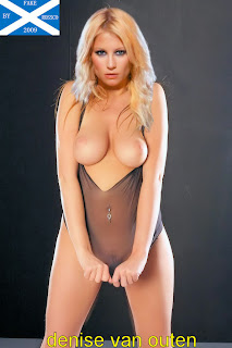 Opinion you Denice van outen fake nudes pictoa