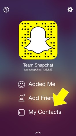 How to find facebook friends on snapchat