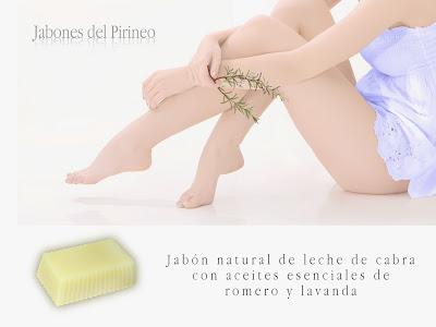 Jabón de Leche de Cabra, Romero y Tomillo