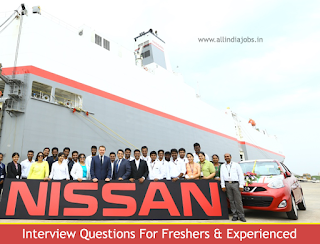 Nissan Interview Questions