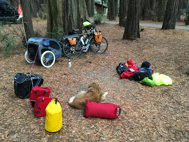 bike touring equipment