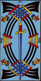 sept d'épée à l'envers