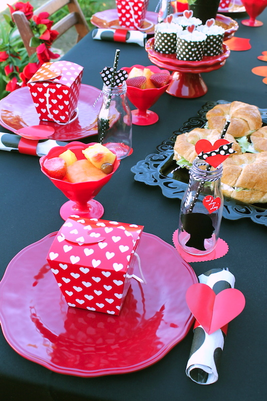 i love lucy galentine 39 s day party valentine party ideas. Black Bedroom Furniture Sets. Home Design Ideas