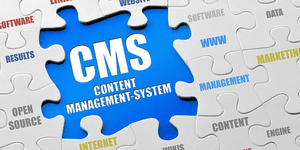 Content management system jigsaw puzzle