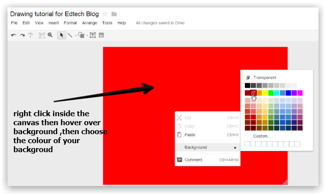 9 steps to create a classroom poster using google docs educational
