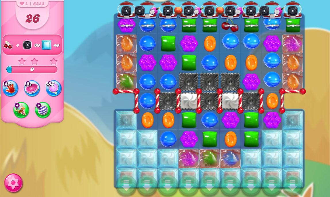 Candy Crush Saga level 6283