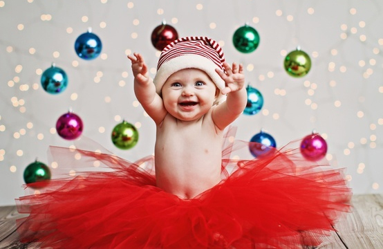 Baby Merry Christmas Cards Ideas