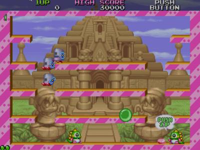 街機:泡泡龍2(Bubble Bobble 2),玩不膩的懷念電玩店老遊戲!